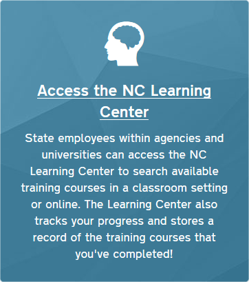 NC Learning Center Redirect