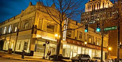 Greensboro at Night