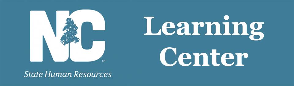 NC Learning Center Banner